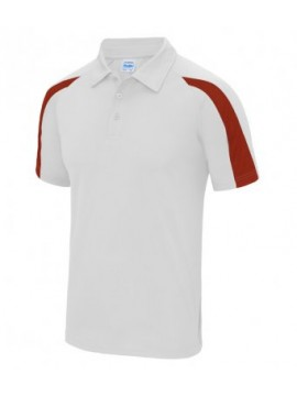 JC043 AWDis Cool Contrast Polo Shirt