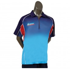 Unicorn - Pro Dart Shirt - Blue and Red