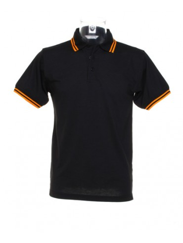 KK409 Tipped collar polo